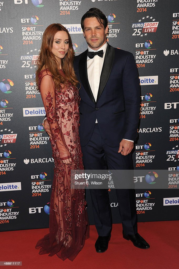 Una Foden and <a gi-track='captionPersonalityLinkClicked' href=/galleries/search?phrase=Ben+Foden&family=editorial&specificpeople=542798 ng-click='$event.stopPropagation()'>Ben Foden</a> attend the BT Sport Industry Awards at Battersea Evolution on May 8, 2014 in London, England.