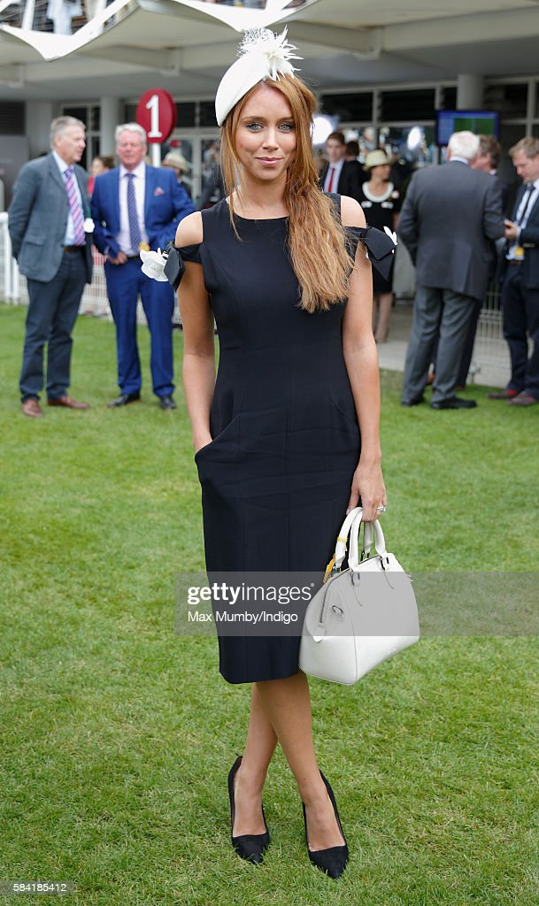 Una Foden attends Ladies Day of the Qatar Goodwood Festival at Goodwood Racecourse on July 28, 2016 in Chichester, England.