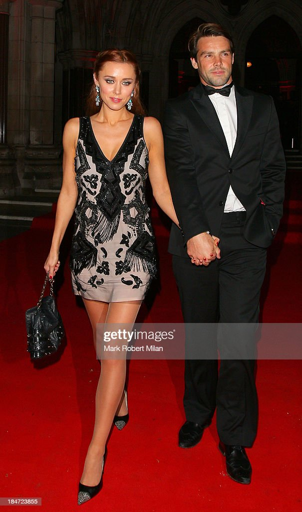 Una Healy and Ben Foden attending the Attitude Magazine Awards on October 15, 2013 in London, England.