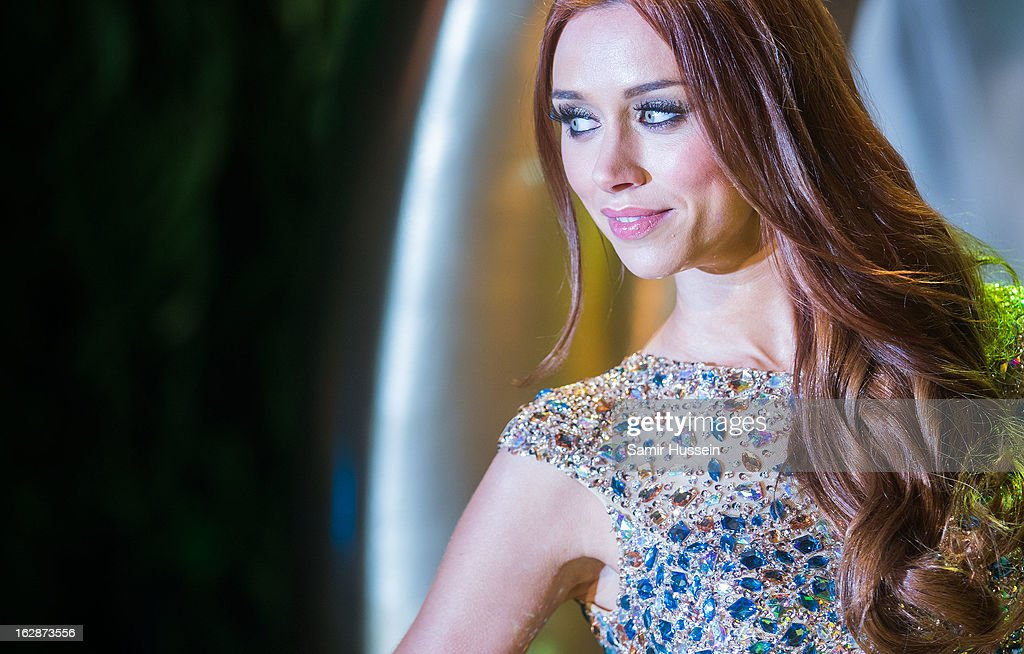 Una Healy arrives for the 'Oz: The Great And Powerful' European premiere at the Empire Leicester Square on February 28, 2013 in London, England.