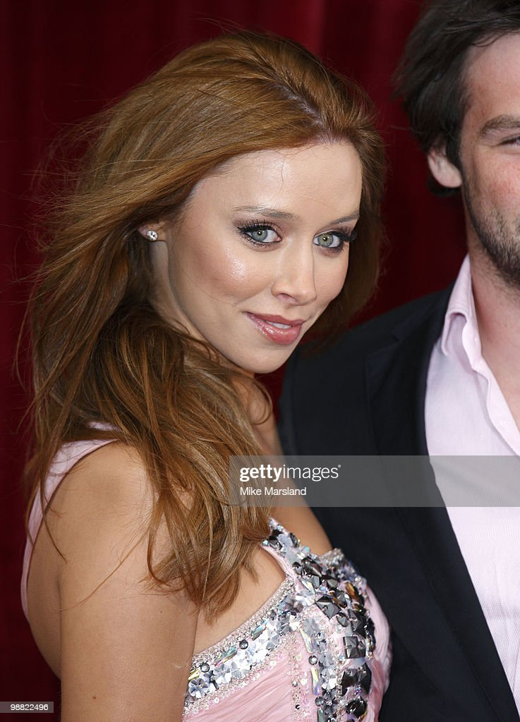 Una Healy attends 'An Audience With Michael Buble' at The London Studios on May 3 2010 in London England