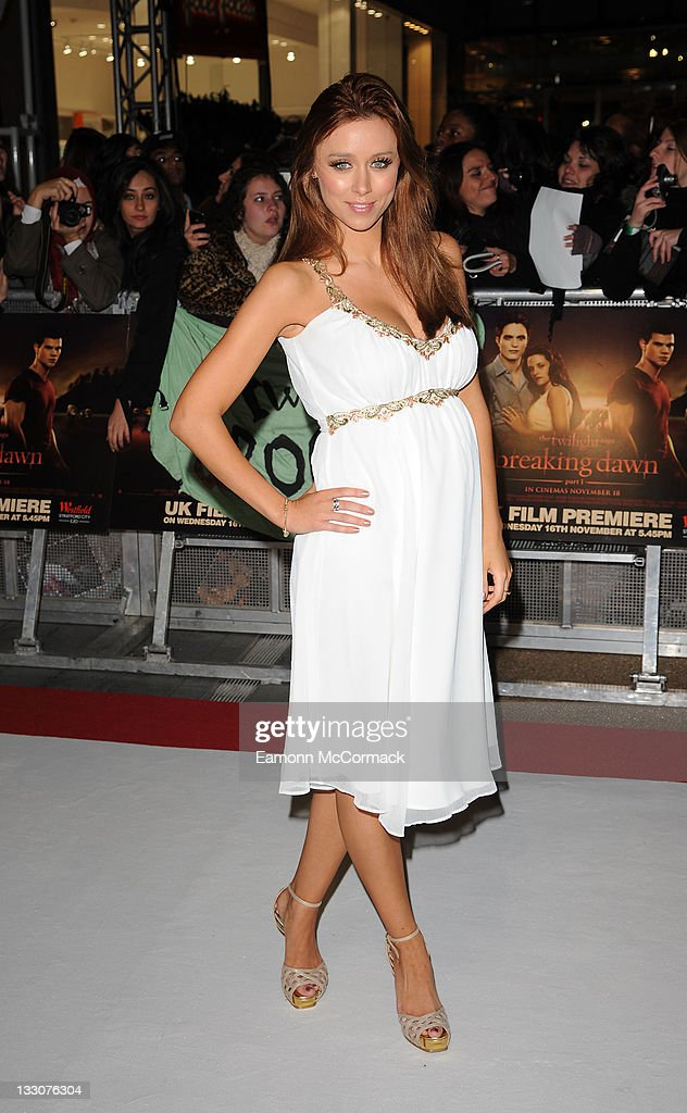 Una Healy attends the UK premiere of The Twilight Saga: Breaking Dawn Part 1 at Westfield Stratford City on November 16, 2011 in London, England.