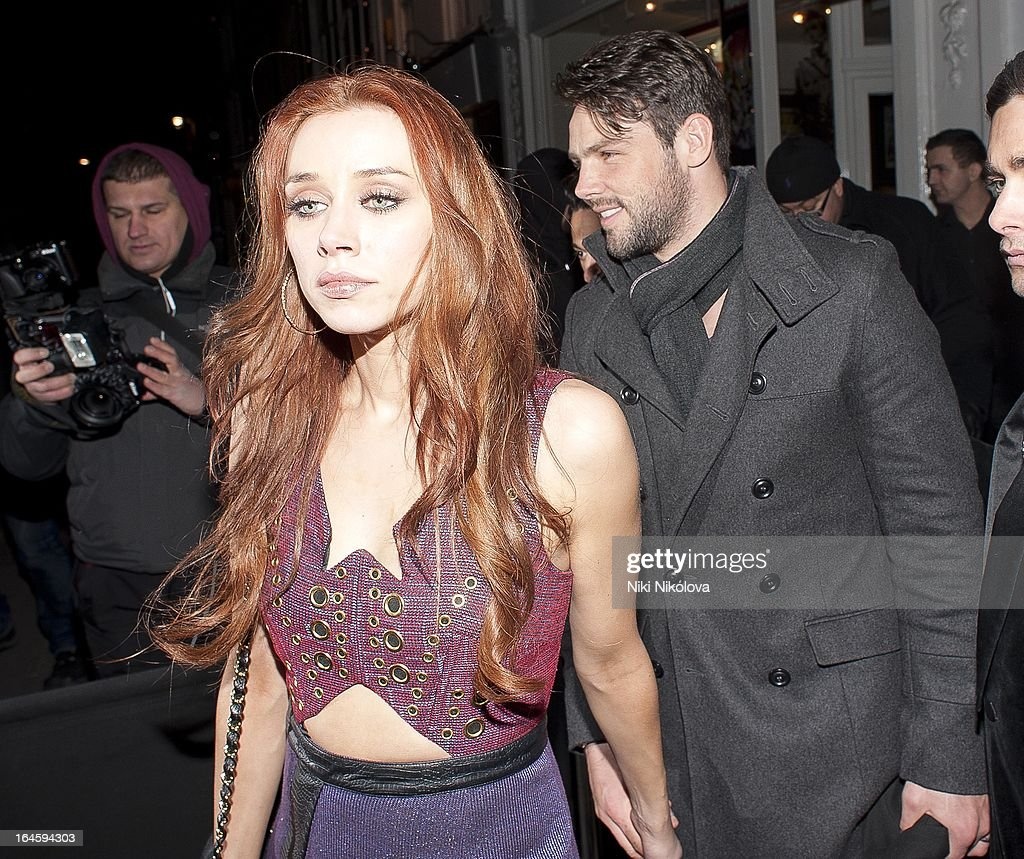 <a gi-track='captionPersonalityLinkClicked' href=/galleries/search?phrase=Una+Healy&family=editorial&specificpeople=5523039 ng-click='$event.stopPropagation()'>Una Healy</a> leaving Amika Club on March 24, 2013 in London, England.