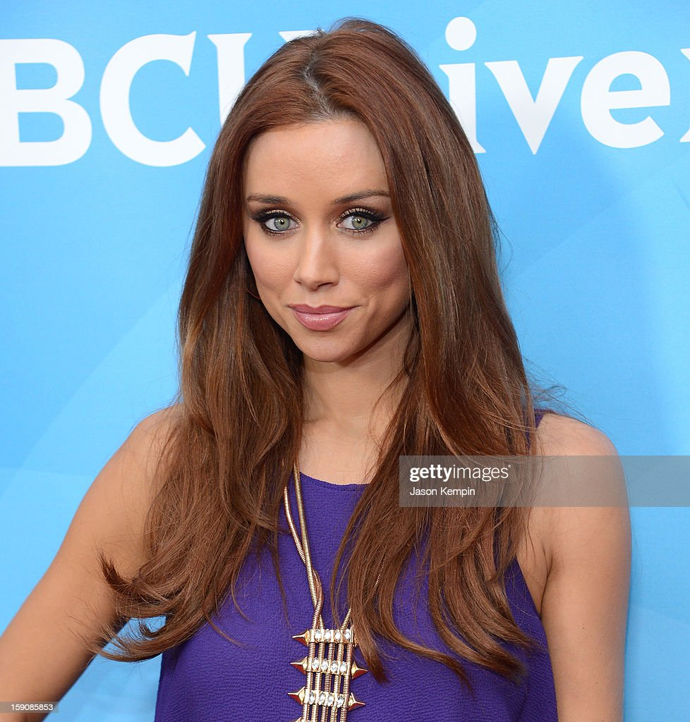 Una Healy of 'The Saturdays' attends NBCUniversal's '2013 Winter TCA Tour' Day 2 at Langham Hotel on January 7, 2013 in Pasadena, California.