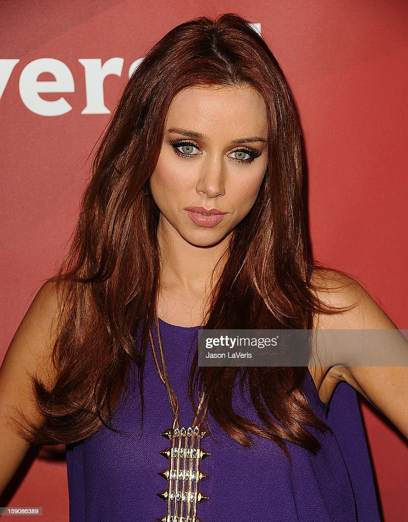 Una Healy of The Saturdays attends the 2013 NBC TCA Winter Press Tour at The Langham Huntington Hotel and Spa on January 7, 2013 in Pasadena, California.
