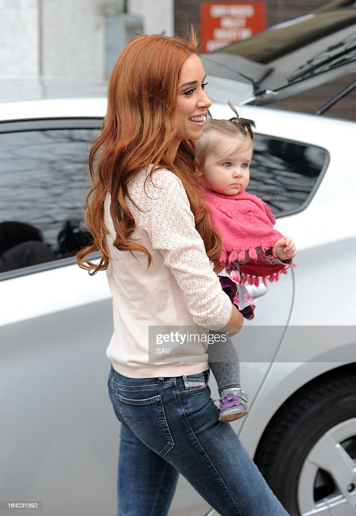 <a gi-track='captionPersonalityLinkClicked' href=/galleries/search?phrase=Una+Healy&family=editorial&specificpeople=5523039 ng-click='$event.stopPropagation()'>Una Healy</a> of The Saturdays pictured leaving the ITV studios on March 21, 2013 in London, England.