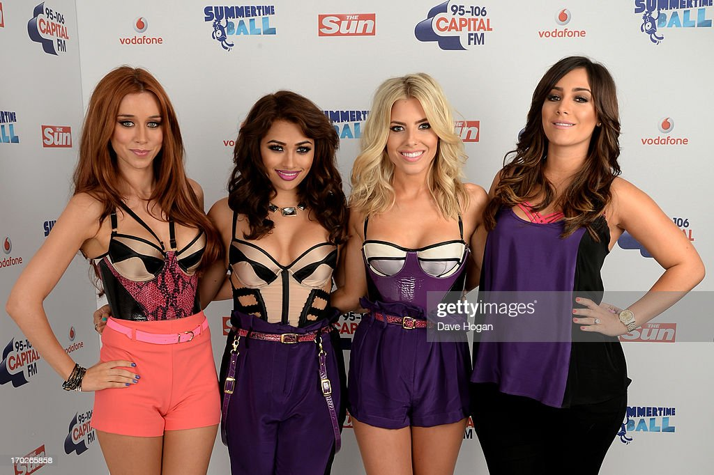 <a gi-track='captionPersonalityLinkClicked' href=/galleries/search?phrase=Una+Healy&family=editorial&specificpeople=5523039 ng-click='$event.stopPropagation()'>Una Healy</a>, <a gi-track='captionPersonalityLinkClicked' href=/galleries/search?phrase=Vanessa+White&family=editorial&specificpeople=5523036 ng-click='$event.stopPropagation()'>Vanessa White</a>, Molly King and Frankie Sandford of The Saturdays pose in a backstage studio during the Capital Summertime Ball at Wembley Stadium on June 9, 2013 in London, England.