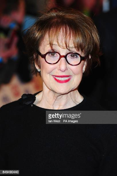 Una Stubbs arriving for the 2013 National Television Awards at the O2 Arena London