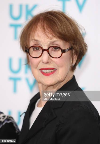 Una Stubbs attends the UKTV Live 2017 photocall at Claridges Hotel on September 13 2017 in London England Broadcaster announces it's programs for the...