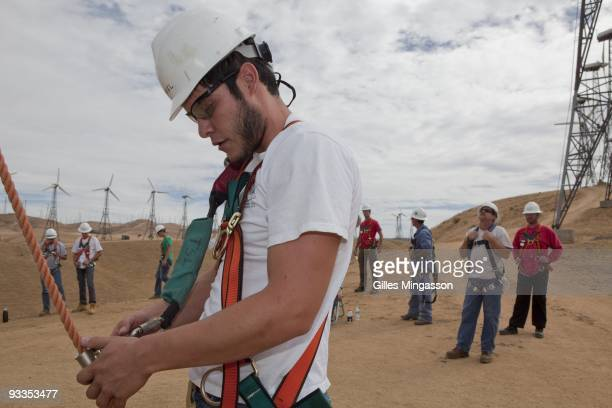 Unable to find work in construction Daniel who is from the Latino suburb of Los Angeles La Puente enrolled in the Cerro Coso Community College Wind...