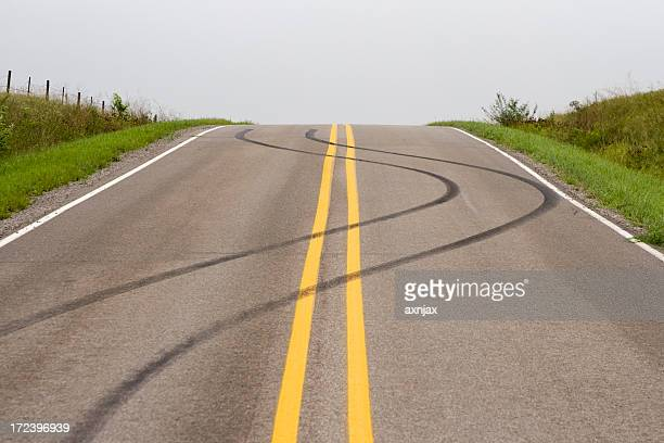 Skid Mark Stock Photos and Pictures | Getty Images