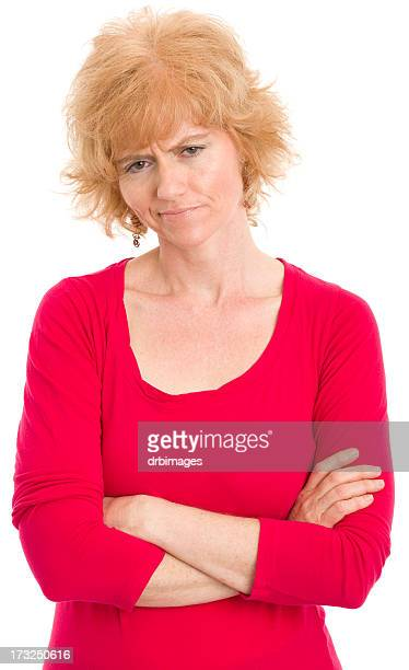 Uncertain Mature Woman