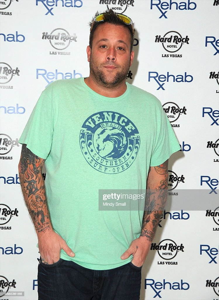 Uncle Kracker arrives at Rehab at the Hard Rock Hotel Casino on April 3 2015 in Las Vegas Nevada