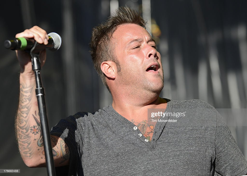 Uncle Kracker performs at Shoreline Amphitheatre on July 28, 2013 in Mountain View, California.
