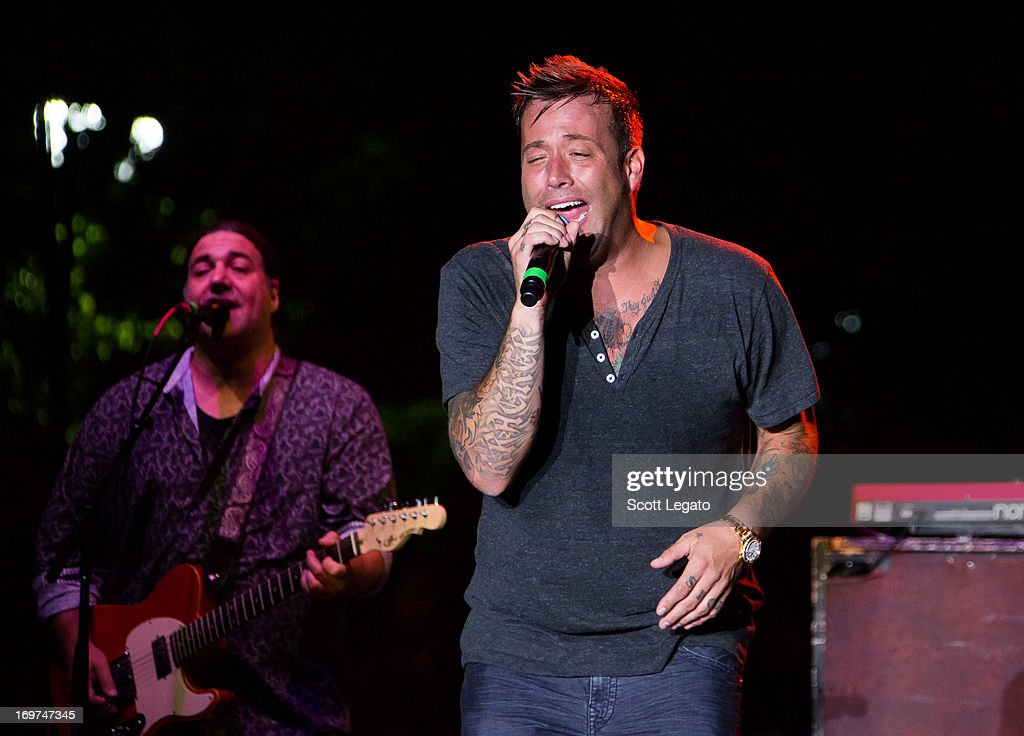 Uncle Kracker performs during the Downtown Hoedown at Comerica Park Parking Lot on May 31 2013 in Detroit Michigan