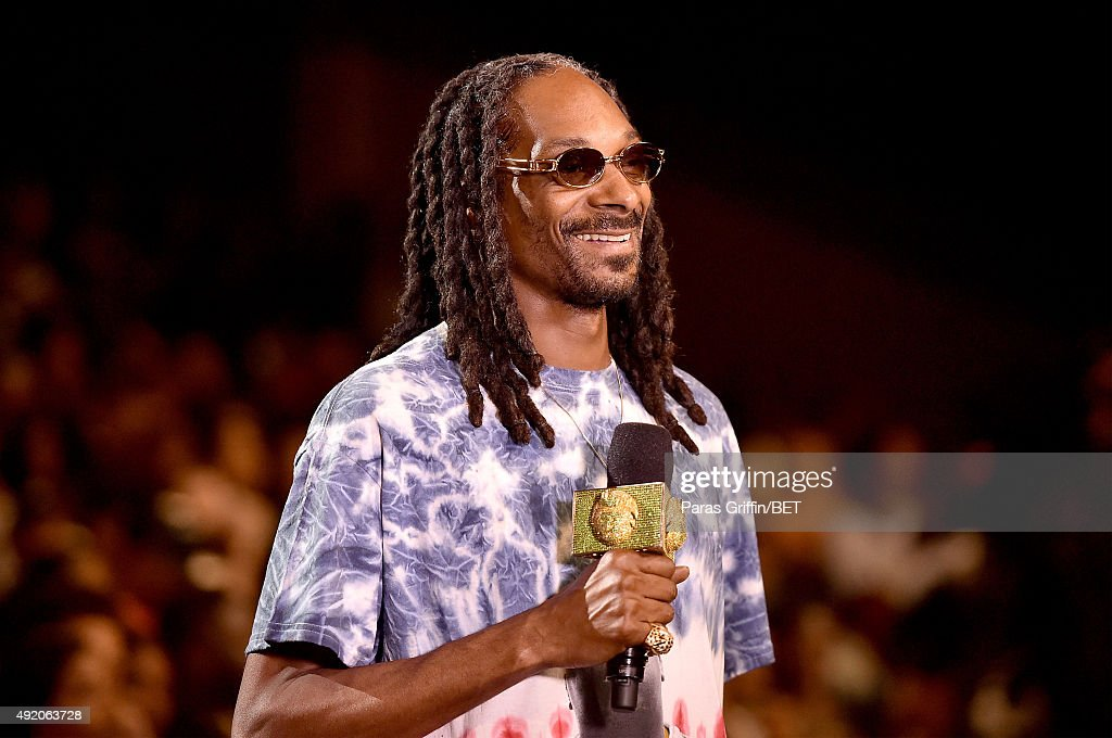 Uncle Snoop onstage at the BET Hip Hop Awards Show 2015 at the Atlanta Civic Center on October 9 2015 in Atlanta Georgia