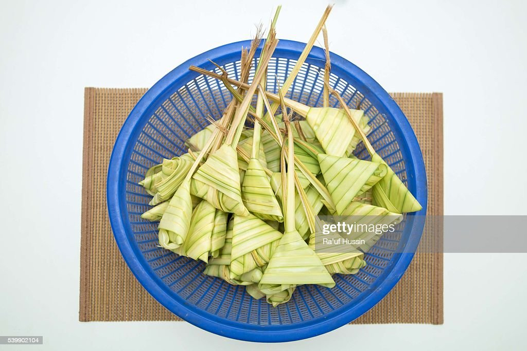 how to cook ketupat rice