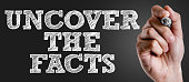 Uncover the Facts sign