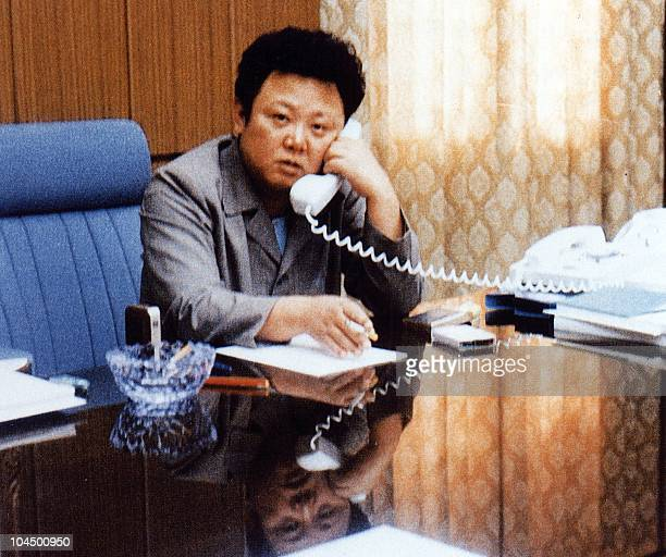 Undate file photo shows North Korean leader Kim JongIl working at a his office Kim JongIl was 08 October named General Secretary of ruling Workers...