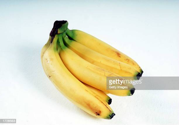 A bunch of ripe yellow Bananas