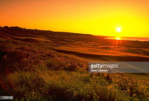 A general view of the Royal Dornoch GC in Sutherland Scotland Mandatory Credit David Cannon /Allsport