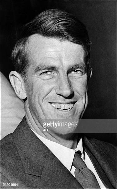 Undated and unlocated portrait of Sir Edmund Hillary Mountaineer and explorer more recently author and lecturer born in Auckland New Zealand As a...