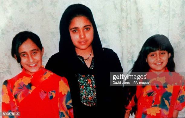 Undated collect of the three children found dead in their home in Montpelier Bristol Saema Khalid Saeqa Khalid and Uzma Khalid they died from...