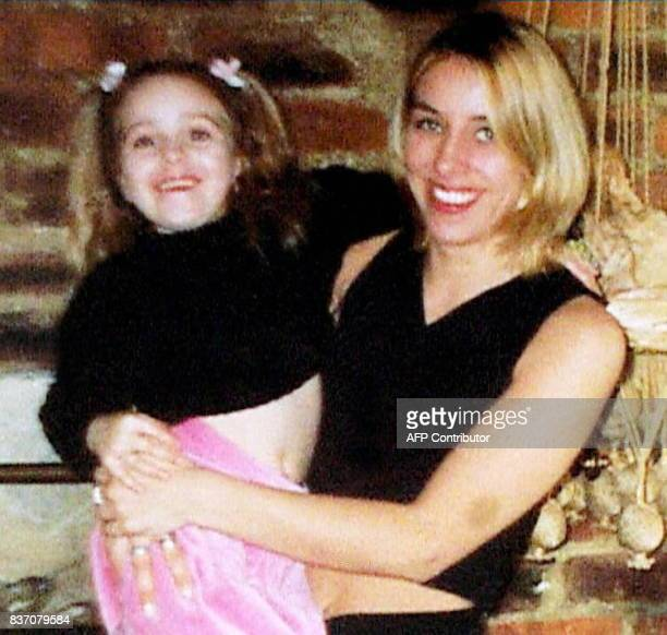 Undated collect photo of Karina Turner holding her daughter Shaunnah 5yearold Shaunnah died along with her mother and grandmother Joan Turner when...