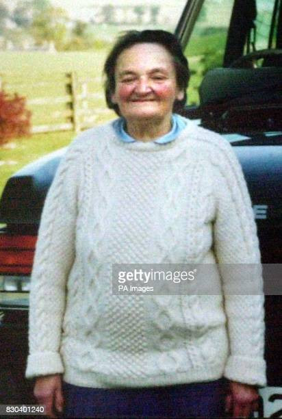 Undated collect picture of Barbara Cherbi whose grieving son claimed he was forced to help a nurse give his dying mother a brain scan because there...