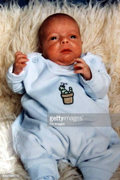 Undated collect picture of twin Connor who's 15 yearold mother Suzanne Watson from Newcastle died from lung cancer shortly after giving birth to...