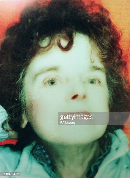 Undated Collect picture of widow Shirley Leach who was found strangled and almost naked in the only cubicle open at night in a ladies toilet at the...