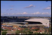 Elland Road home of Leeds United FC One of the venues for the European Championships in England 1996