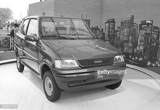 Undated file picture showing India's cheapest car being manufactured by the Kinetic group will hit Indian roads by the end of this year officials...