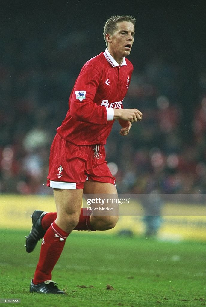 Jan Aage Fjortoft of Swindon in action during a Carling Premiership match against Wimbledon at Selhurst Park in London Wimbledon won the match 30...