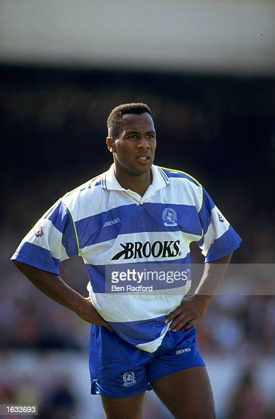 Les Ferdinand of Queens Park Rangers during a match Mandatory Credit Ben Radford/Allsport
