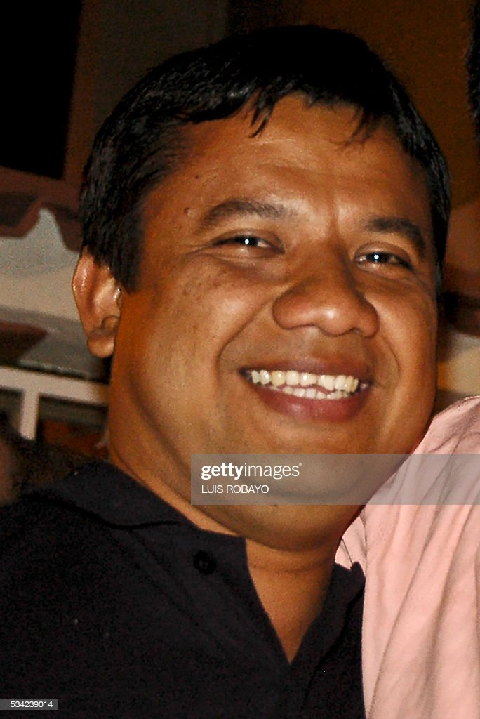 Undated photo of Colombian cameraman Carlos Melo of RCN television, who disappeared alongside RCN journalist Diego D'Pablos on May 23, 2016, when they were travelling to the village of Filo El Gringo, in the rural area of El Tarra, Norte de Santander department, Colombia. The journalists were investigating the disappearance of Spanish journalist Salud Hernandez, who disappeared on May 21, 2016. / AFP / LUIS
