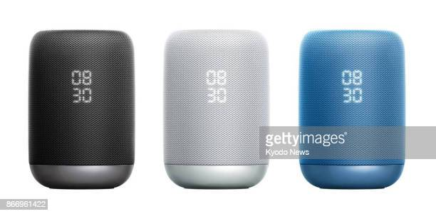 Undated photo shows Sony Corp's wireless speaker 'LFS50G' which has Google Assistant built in The company said Oct 26 that it will start selling the...