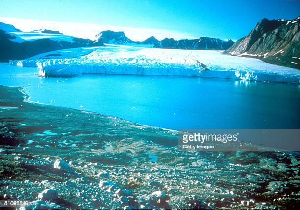 Undated Photo Taken In Greenland Where Due To Global Warming The Ice Cap In The Past 5 Years Has Shrunk More Than 25 Cubic Kilometers