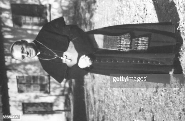 Undated picture of Bulgarian priest Eugene Bossilkov who died in 1952 and who will be beatified by the Pope in Vatican 15 March / AFP PHOTO /...