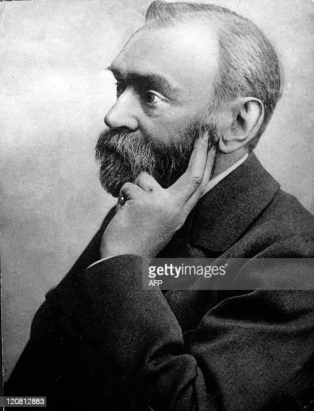 Undated picture shows inventor Alfred Nobel who founded the Nobel Prize Four members of the Nobel family asserted that the Nobel Economics Prize is...