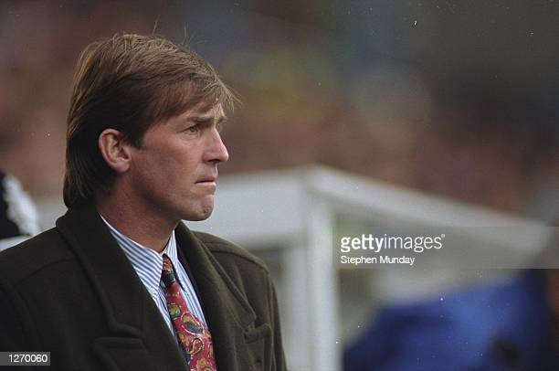 Portrait of Blackburn Rovers Manager Kenny Dalglish Mandatory Credit Stephen Munday/Allsport