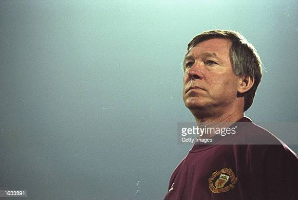 Portrait of Manchester United Manager Alex Ferguson Mandatory Credit Allsport UK/Allsport