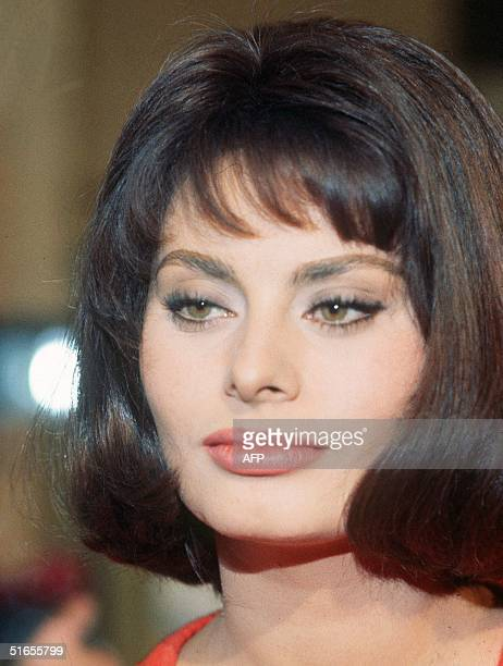 Undated portrait shot during the Cannes Film Festival of Italian actress Sophia Loren