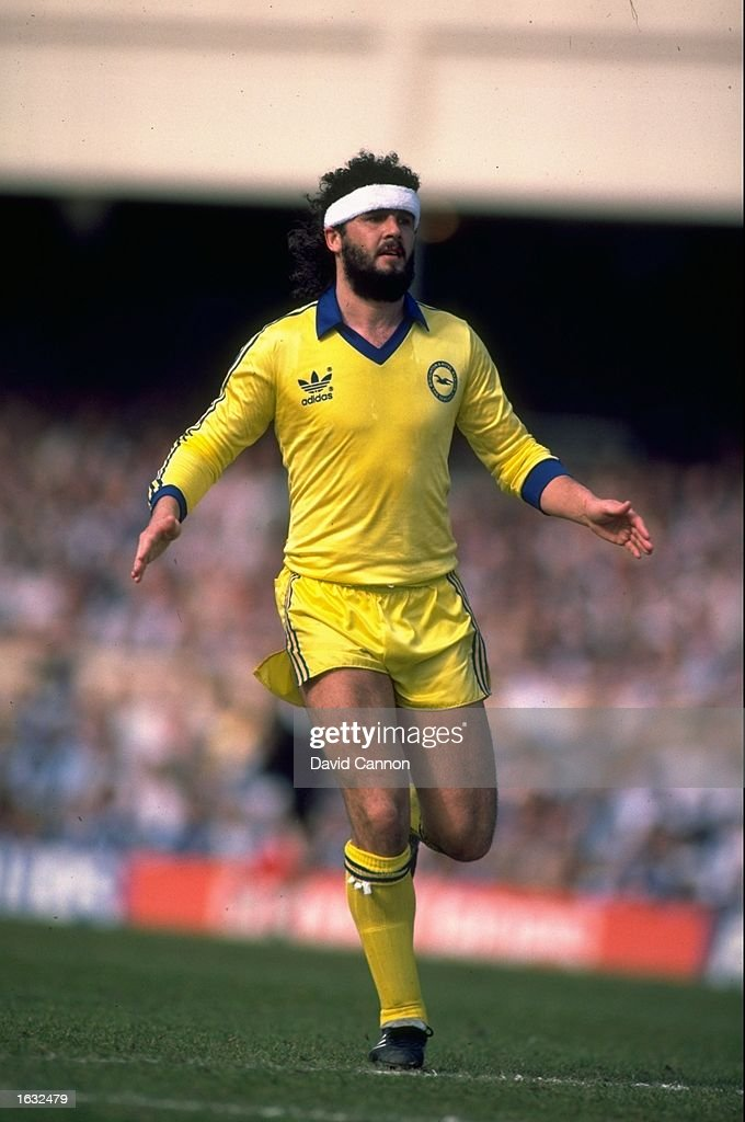 Steve Foster of Brighton and Hove Albion in action during a match Mandatory Credit David Cannon/Allsport