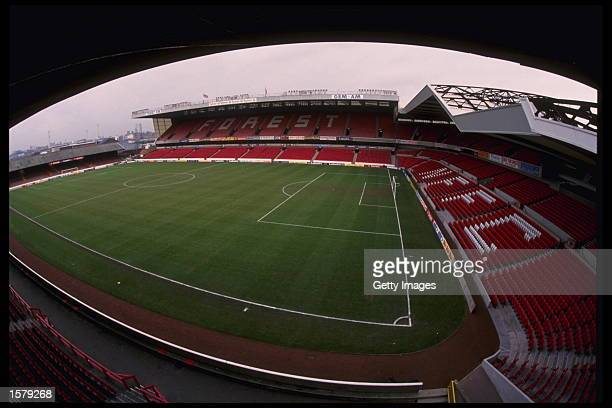 The City Ground home of Nottingham Forest FC one of the venues for the European Championships in England 1996