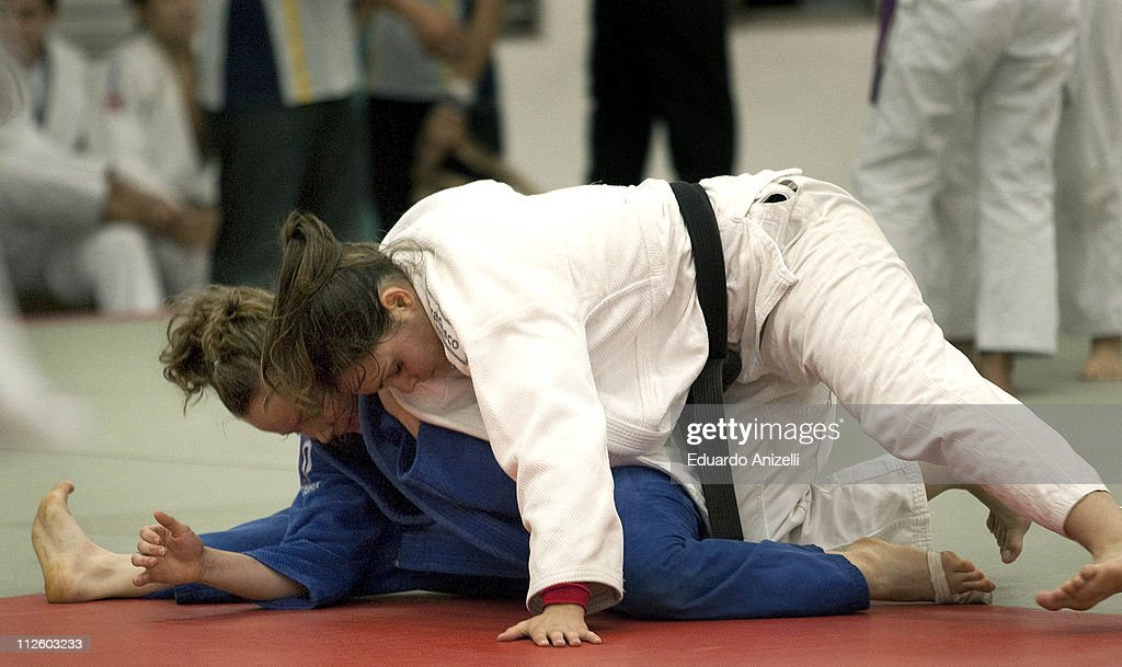 Under 17 and Under 20 Selections of Judo during a training session at the Olympic Center on April 19 2011 in Sao Paulo Brazil The training is part of...