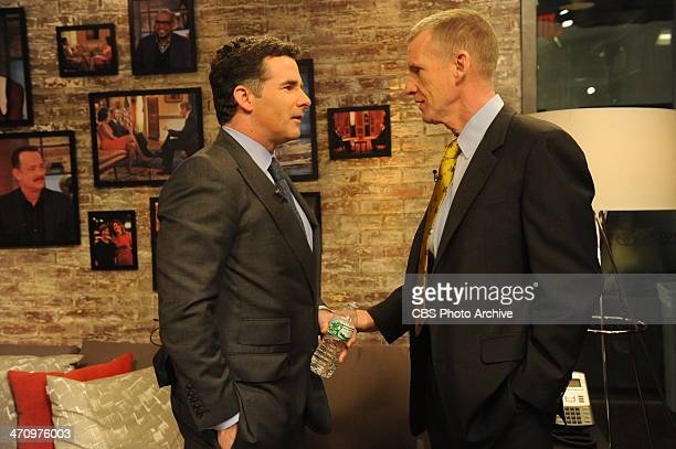 Under Armour CEO Kevin Plank and General Stanley McChrystal Author of 'My Share of the Task A Memoir' on the CBS Television Network