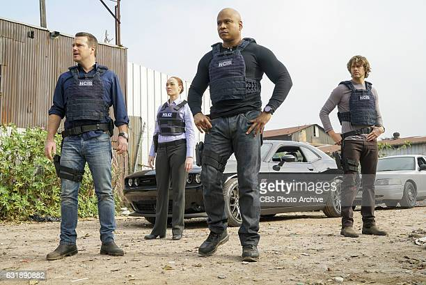 'Under Siege' Pictured Chris O'Donnell Karina Logue LL COOL J and Eric Christian Olsen Hetty goes rogue leaving the NCIS team completely in the dark...