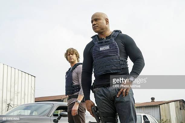 'Under Siege' Pictured Eric Christian Olsen and LL COOL J Hetty goes rogue leaving the NCIS team completely in the dark and the mole kidnaps one of...