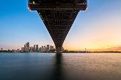 Under The Harbour Bridge.